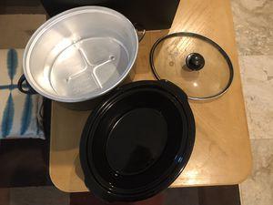 Hamilton beach 5qt crock pot for Sale in Fort Lauderdale, FL