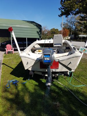 15 HP Yamaha Boat and motor for sale for Sale in Orlando, FL