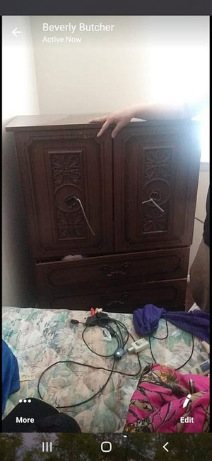 Dresser with opening doors for Sale in Tennerton, WV