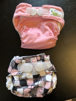 Newborn Cloth Diapers Covers & All-In-One Diapers $15 obo for Sale in Portland,  OR