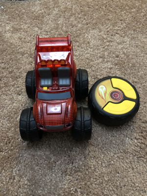 Blaze and the monster machines remote control car for Sale in Odenton, MD