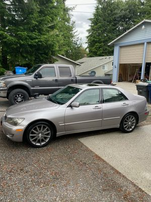 2004 Lexus IS 300 sport edition. for Sale in Snohomish, WA