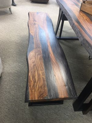 Brand new live edge solid wood dining table for Sale in Houston, TX