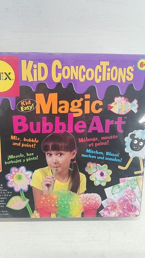 Kid Concotions MAGIC BUBBLE ART New ! SEALED for Sale in Pittsfield, MA