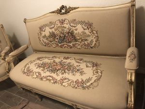 Louis XVI antique set chairs sofa tables for Sale in Miami, FL