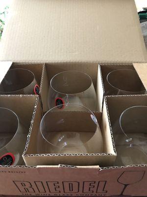 Crystal wine glasses for Sale in Arlington, VA