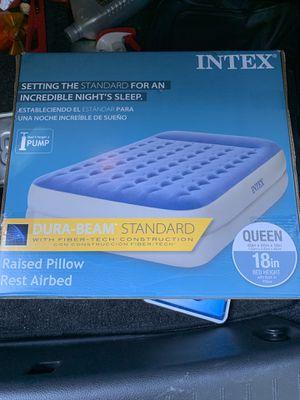 Intex Queen Size Air Mattress for Sale in Darien, CT