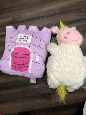 Unicorn happy napper stuffed animals for Sale in Elk Grove, CA