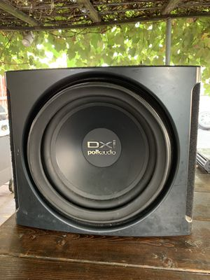 DXI Polk Audio 12 inch Subwoofer for Sale in Medford, MA