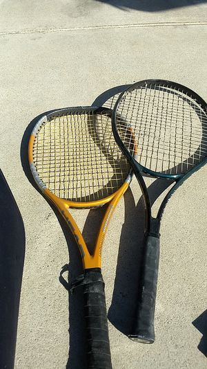 Two tennis rackets for sale for Sale in West Covina, CA