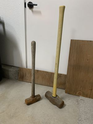 Heavy Duty hammers (both) for Sale in Lathrop, CA