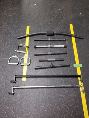 Cable attachments. Exercise for Sale in Fountain Valley, CA