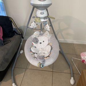 Fisher Price Sweet Snugapuppy Cradle 'n Swing for Sale in Davenport, FL