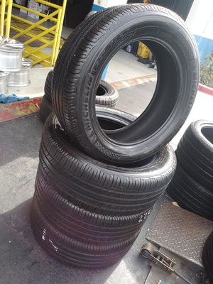 4 MICHELIN 225/55/17 FREE MOUNT BALANCE for Sale in Anaheim, CA