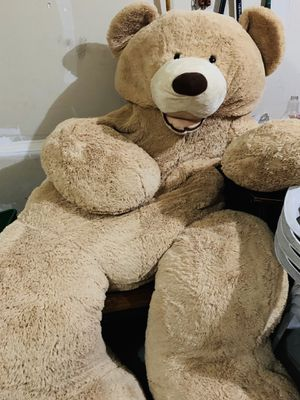 Giant teddy bear adult size for Sale in Lake in the Hills, IL
