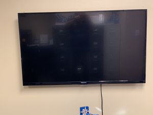 50 inch flat screen wall mounted TV. In office and almost never used. Asking $150. Mounting hardware included. You will have to pick up at busine for Sale in Las Vegas, NV