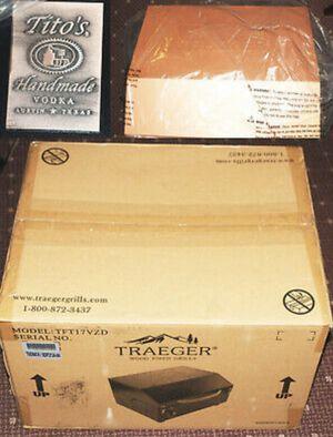 Tito's Promo Traeger Smoker - brand new in box for Sale in Pompano Beach, FL