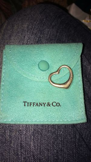 Tiffany & Co. Elsa Peretti open heart pendant for Sale in St. Louis, MO