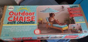 Kids chair and umbrella for Sale in Fort Worth, TX