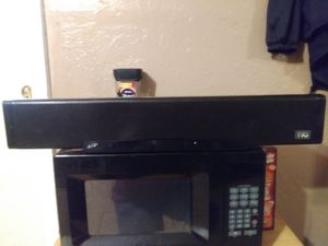 """37"""" Sound Bar with Built-in Subwoofer for iPod and iPhone for Sale in Kingsport, TN"""