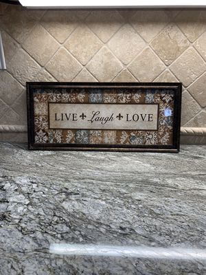 Live Laugh Love Rectangle Wall Picture for Sale in Long Beach, CA
