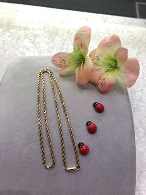 18KT Yellow Gold Rope Style Chain 20 Inches for Sale in Gresham, OR