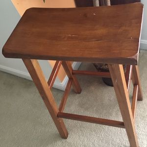 Wooden Stool for Sale in Sterling, VA
