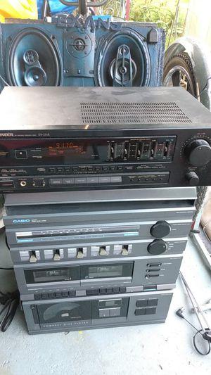 Pioneer 190 w receiver w eq for Sale in Houston, TX