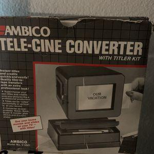 AMBICO TELE-CINE CONVERTER V-0611 for Sale in Apache Junction, AZ