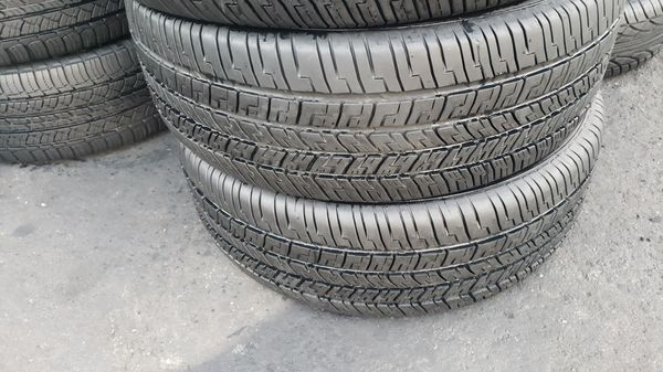 4 good year tires with size 225/60/18