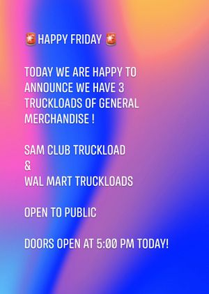 Sam club merchandise on sale today at 5:00pm for Sale in Bakersfield, CA