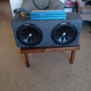 "12"" Subwoofers Kickers & Amp for Sale in Carson, CA"