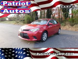 2016 Toyota Corolla for Sale in Baltimore, MD