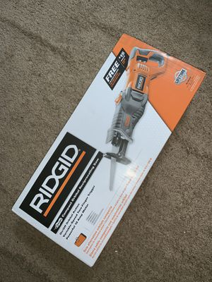 Brand new with box Ridgid compact orbital reciprocating saw $80 for Sale in Philadelphia, PA