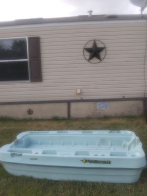 Pelican Bass Boat 8ft with Title for Sale in Castroville, TX