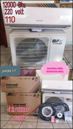 Air conditioner AC Split Minisplit Mini split Brackets 110 - 220 volt 🏳️🌈 12000 BTU o 1 tonelada 💯✨ for Sale in Miami, FL