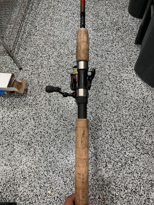Fishing rod and real for Sale in Tampa, FL