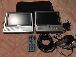 Portable DVD player for car for Sale in Yukon, OK
