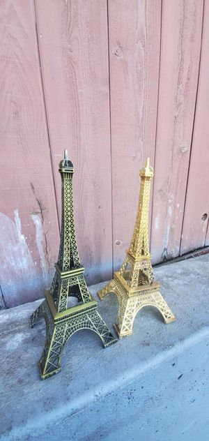Paris towers for decoration 😃😃😃😃😃🎷🎷🎸🎸🎸 for Sale in Los Angeles, CA