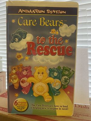 Animation Station Care Bears to the Rescue VHS 📼 Vintage for Sale in Albuquerque, NM