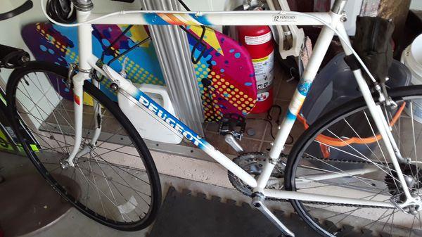Peugot road bike
