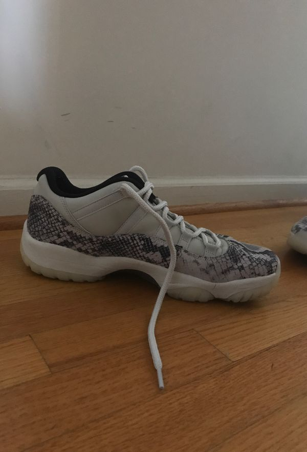 Jordan 11 Retro Low Snakeskin Size 12
