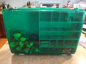 plano 2 section fishing box for Sale in Barnegat, NJ