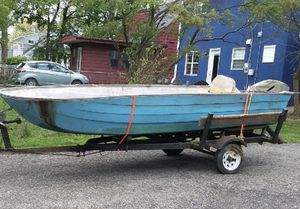 Boat for sale ( moving need it gone) 14 1/2 ft long by 5 ft wide make an offer for Sale in Pickerington, OH