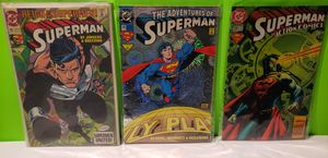 Superman DC Comic Book Lot (You get all 3) for Sale in Reinholds, PA