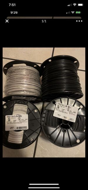 Wire insulated black and white for Sale in Phoenix, AZ
