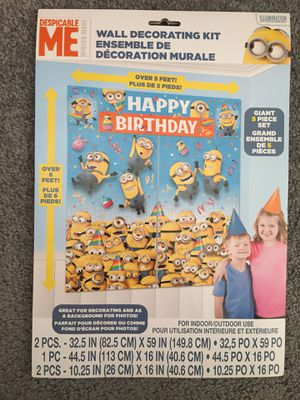 Minion photo booth material for Sale in Henrico, VA