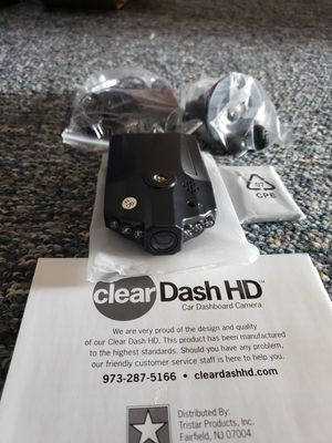 Cleardash Dash Camera ( X-1000 ) W/ Memory Card for Sale in Gahanna, OH