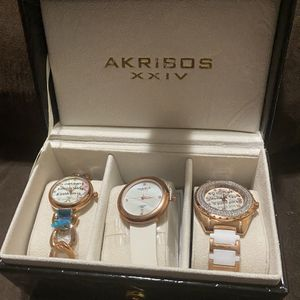 AKRISOS Watch Set new for Sale in Gaston, SC