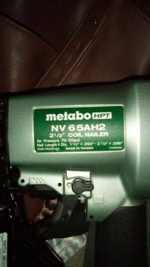 Coil nail gun - Metabo HPT for Sale in Gray Court, SC